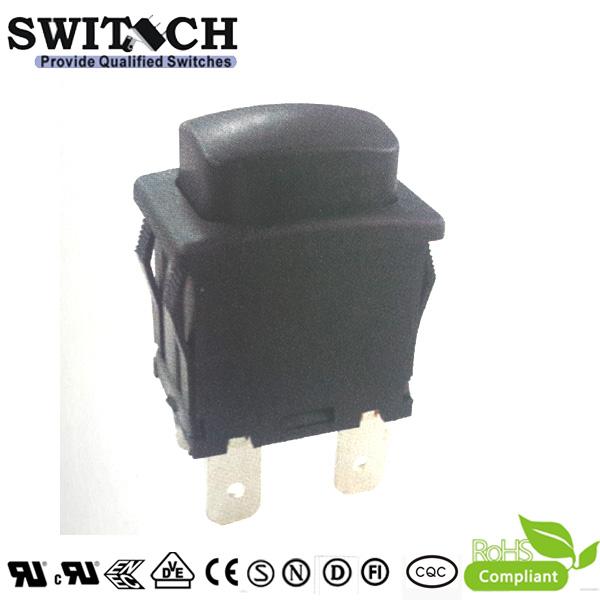 RT-P03 4 pins square shape push button switch IP55,16A 125VAC/250VAC  SPST momentary