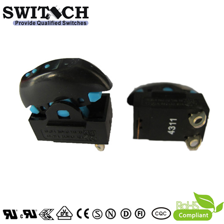 RT-S08A1-SW1GBBN 3 pins 3 grears rocker switch for household appliances/ mechanical equipment
