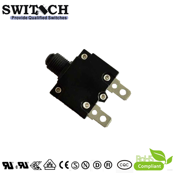RTB-B UL CUL spring return pushbutton switch 3A-20A, 15A,2 pins  for power supply