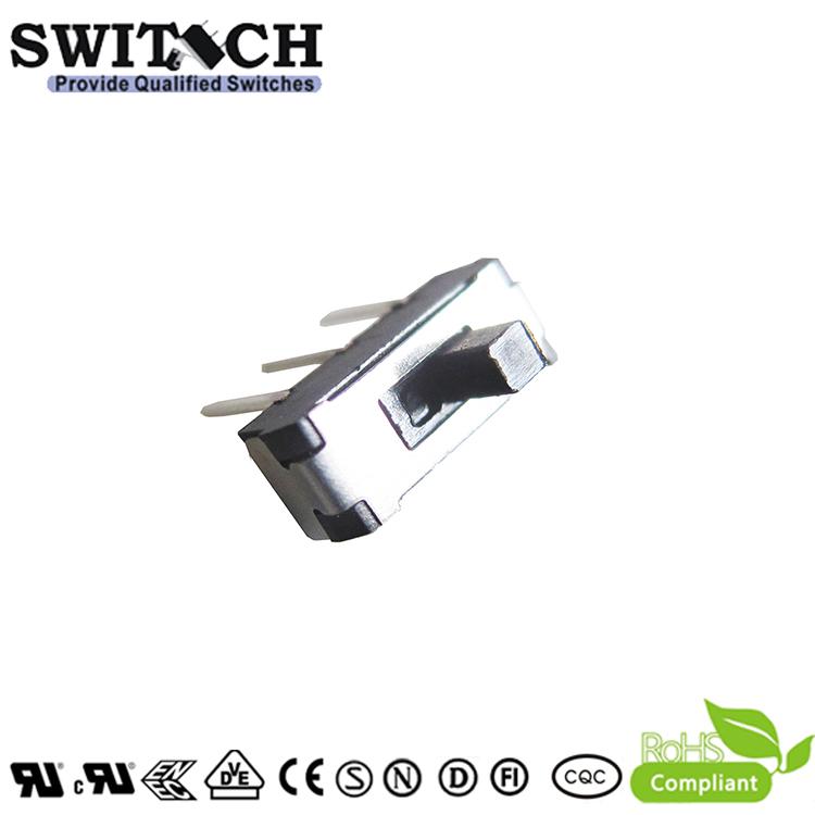 MS22D16G2SW-B (unilateral) DC 50V 0.3A 1P2T 3Pins Metal for Electronics