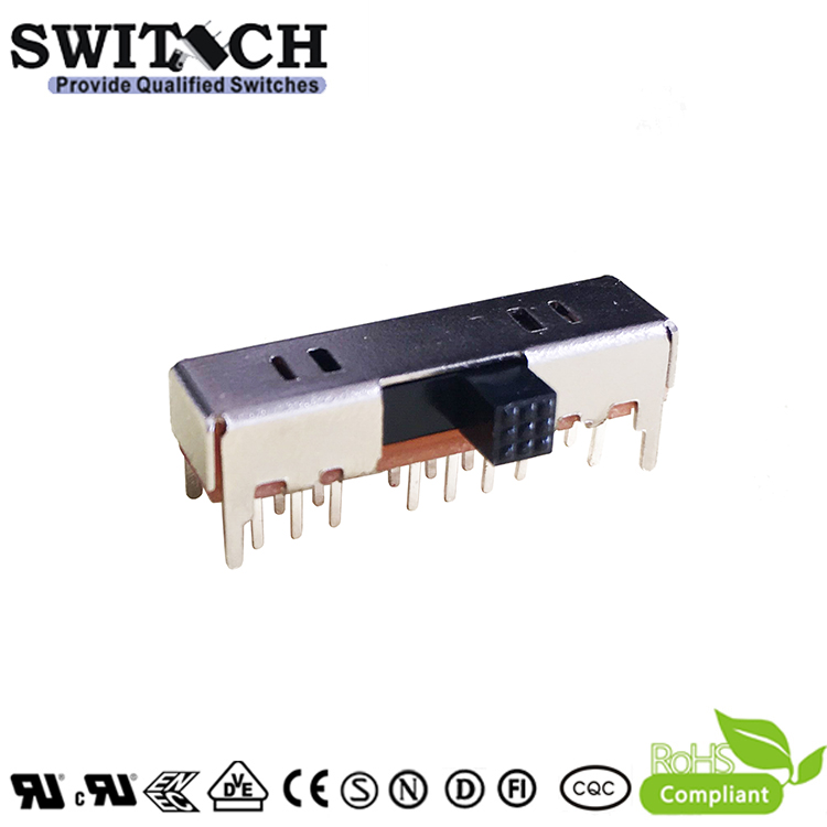 SK-43D09-PG3SW-silde switch 2P8T