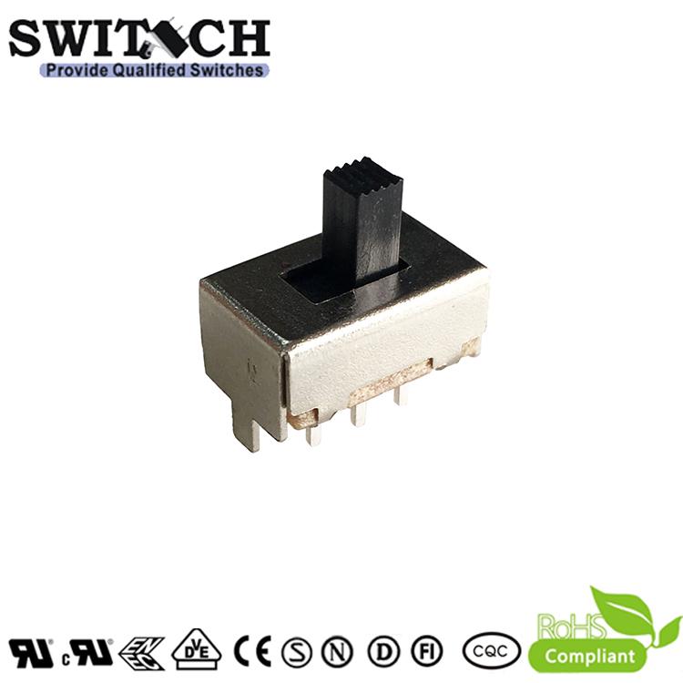 SS22F04G5SW silde switch 2P3T
