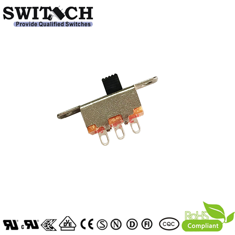 SS12F15G3SW-Ni-10 -silde switch 1P2T