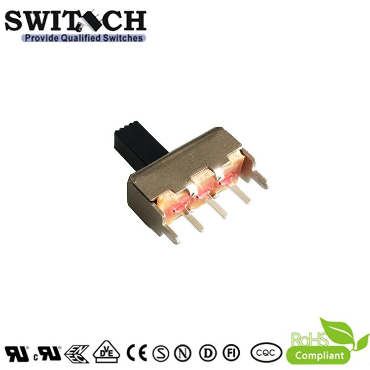 SS12F46G6SW -silde switch 1P2T