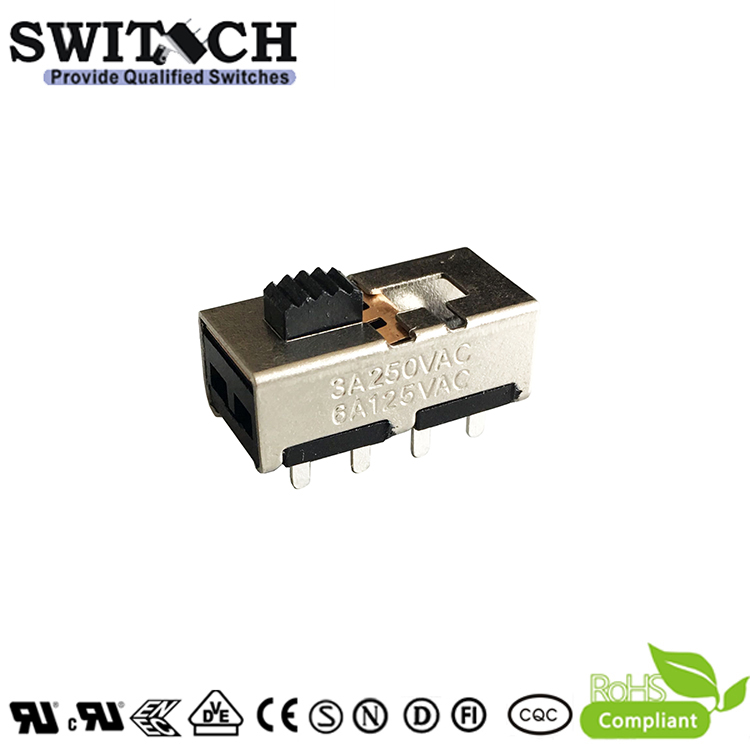 SS23H24G3-NF -silde switch 2P3T