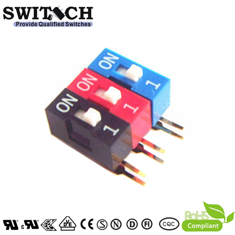 SW11-DA-01 1Pins Cabriole leg  Switch DIP Switch Piano Push Switch