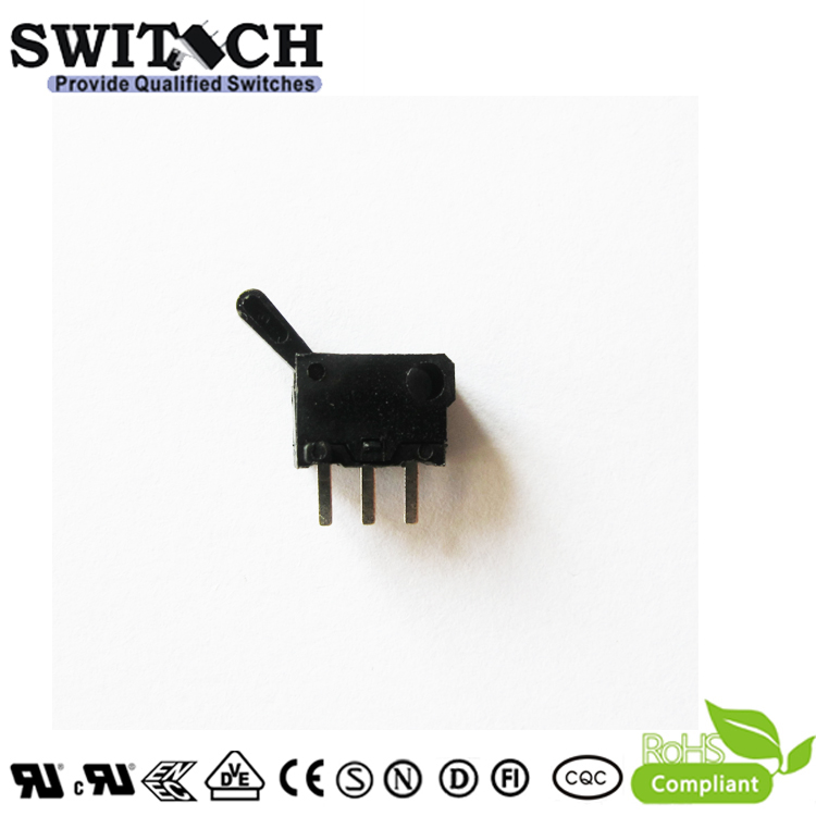 SW-KW136  Mini Snap Action Switch with  PCB Terminal