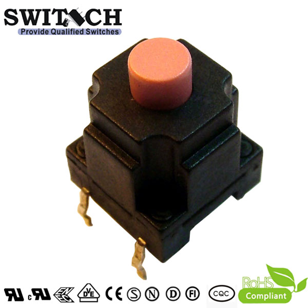 TS10W-130C 10*10mm IP67 waterproof tact switch, 13mm hight, push button switch, switch for Panel PCB, switch replace siemens