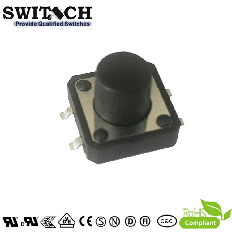 TS12A-095C-G15.2 12×12mm SMD tact switch 4pins push button switch