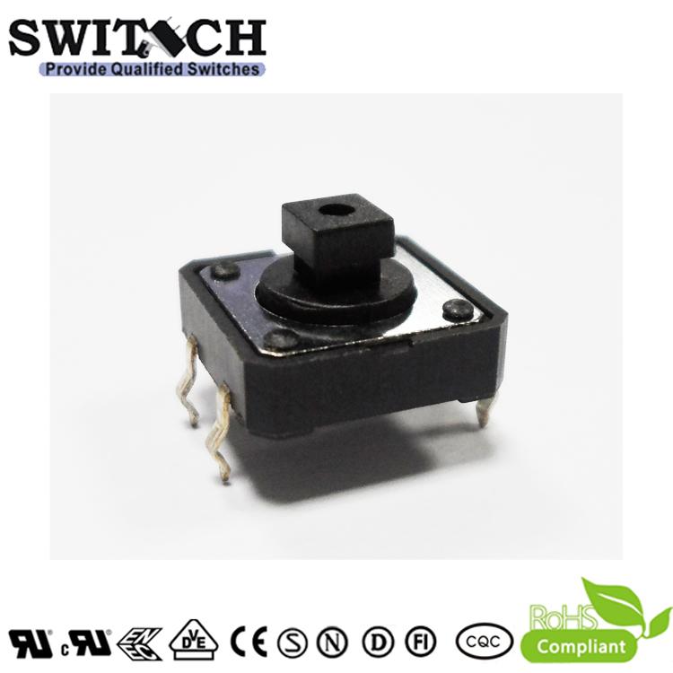 TS12C-073B 12x12 normal open push button switch