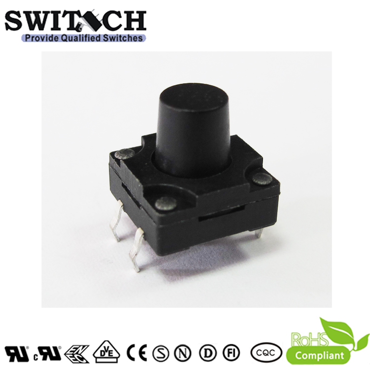 TS12W-100C 12×12mm 10mm height IP67 tact switch for home application