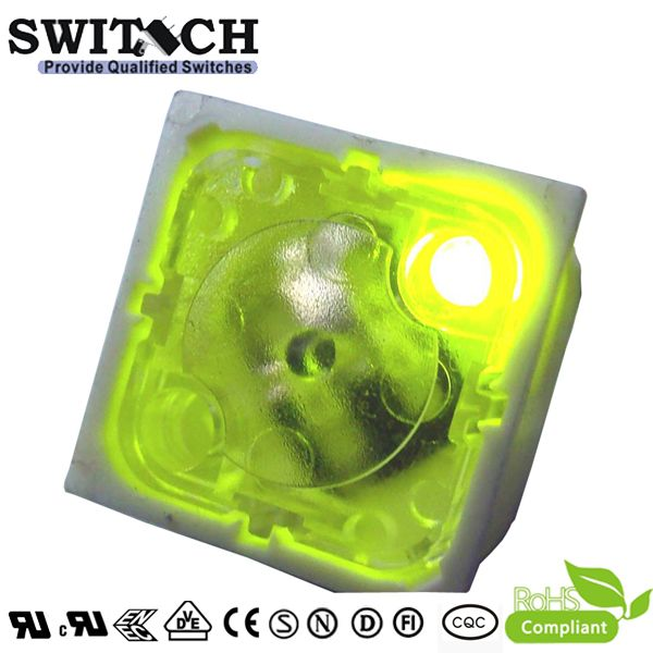 TS19I-097C-E  square LED switch from China factory,good quality to repalce Eswitch