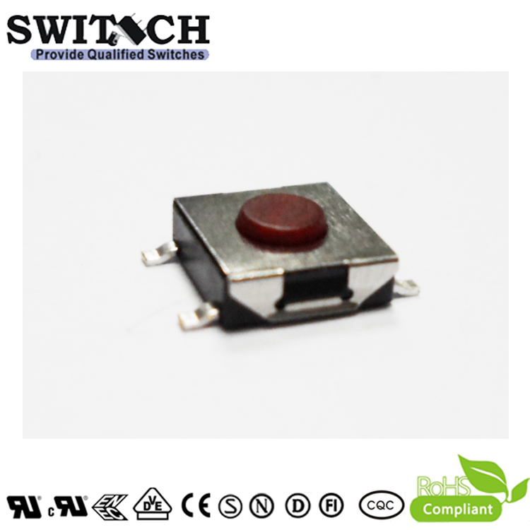 TS2A-025C(R)-G8.4-HF 2.5mm height tact switch miniature tactile swith halogen free