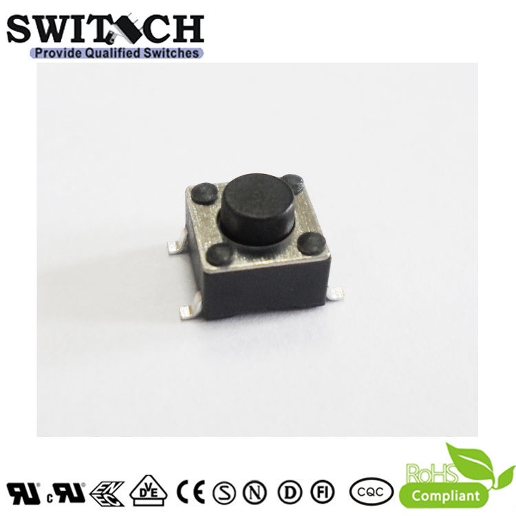 TS2A-043C-G8-H High Quality Low Resistace Tact Switch with 300,000 life cycles