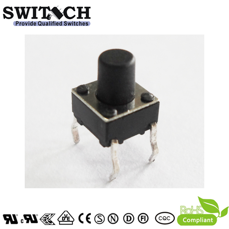 TS2A-070C  6*6mm 7mm height with 4 pins