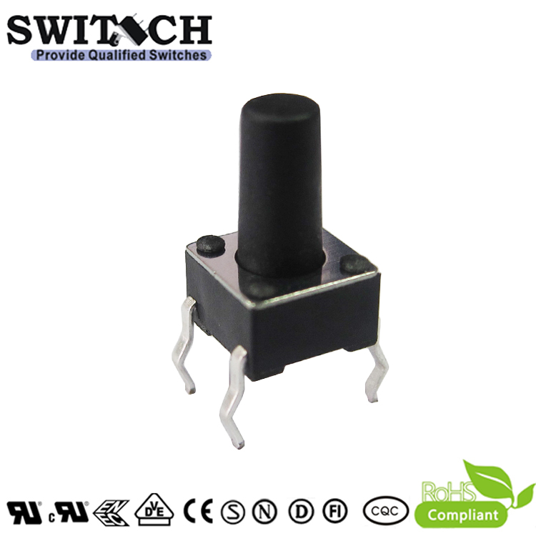 TS2A-105C 6x6mm tact switch with high button 10.5mm tact switch