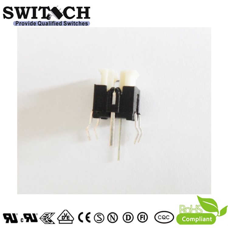 TS2I-072C-N 6x6mm non-illuminated Momentary Switch with Reach