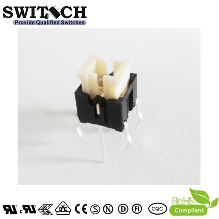 TS2I-072C-RG illuminated tactile switch 6×6mm push button switch with red and green led