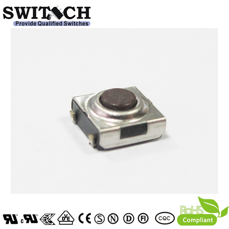 TS2W-031C-S 6×6mm 3.1mm height waterproof tact switch