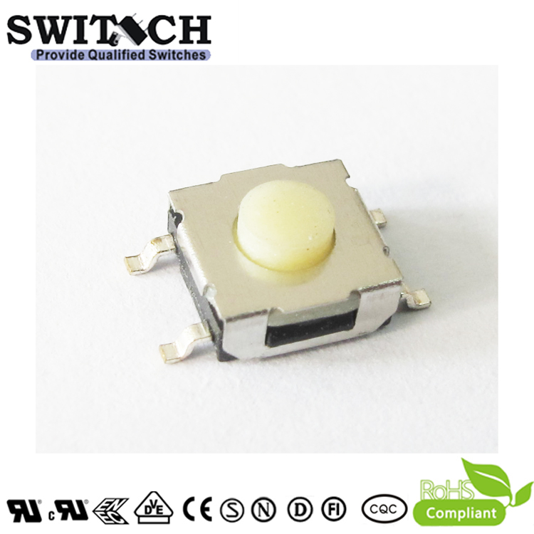 TS2W-035D-G9.5-RS 6×6×3.5mm waterproof tact IP67 switch with rubber button
