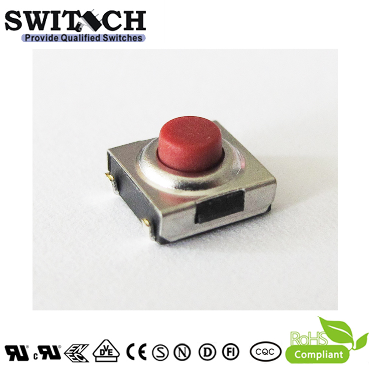 TS2W-0395C-J7.2-FC custormized height waterproof pushbutton switch for facial cleanser