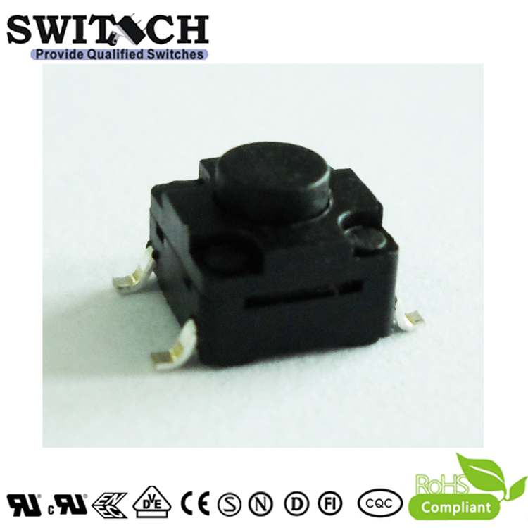 TS2W-045C-G8.5 6×6mm 4.5mm height waterproof tact switch