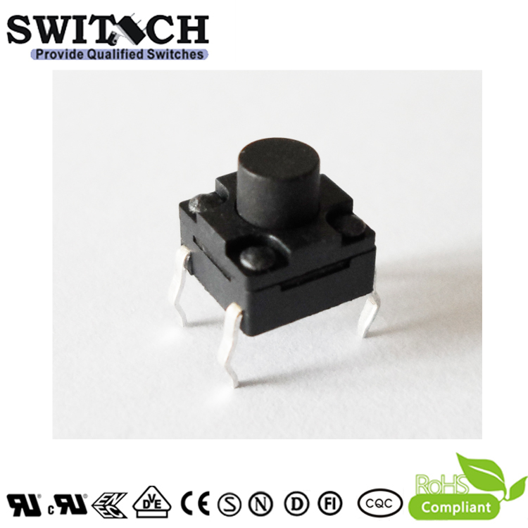 TS2W-050C 6*6mm waterproof PCB tact switch replace ALPS, circle switch, handy portable resistor kit switch