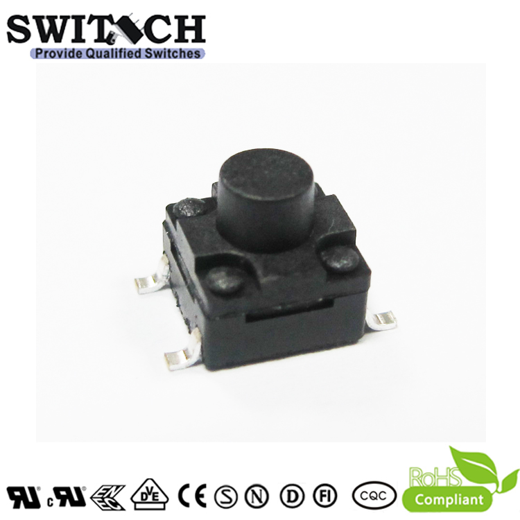 TS2W-060B-G8.5 6×6×6mm waterproof tact switch SMD tactile switch
