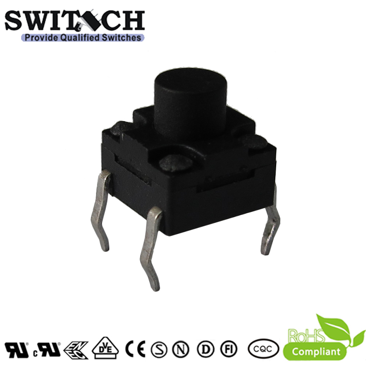 TS2W-060C 6*6mm waterproof PCB tact switch replace ALPS, handy portable resistor kit switch