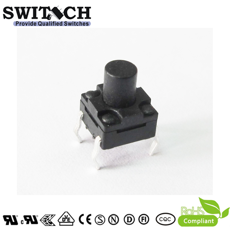 TS2W-070C 6×6mm 7mm height IP65 tact switch for washer