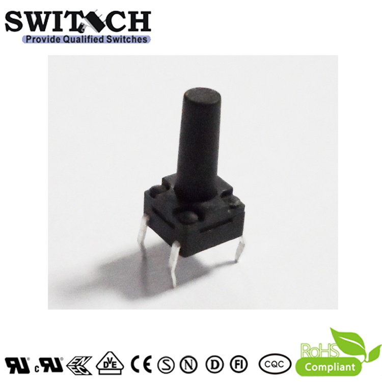 TS2W-130B 6*6mm 13mm height ip65 waterproof PCB tactile switch