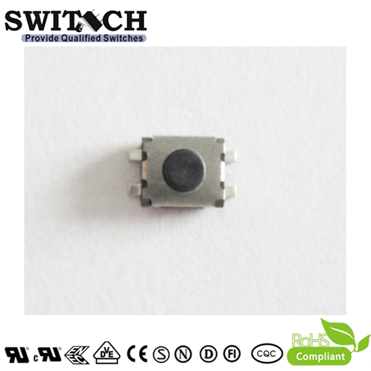 TS3530A-018C-G4.6 miniature 3.5×3mm 1.8mm height tactile switch for toothbrush