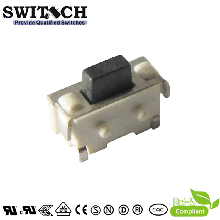 TS4618V-035C-G3.4-D side-push tact switch with 2 position pins
