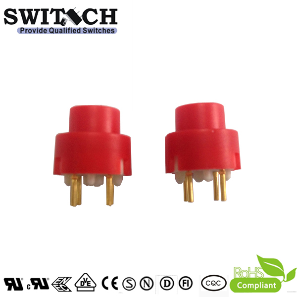TS4-2 free sample SPST push button switch with 2 pins PCB terminals replace NKK,On off electrical switch
