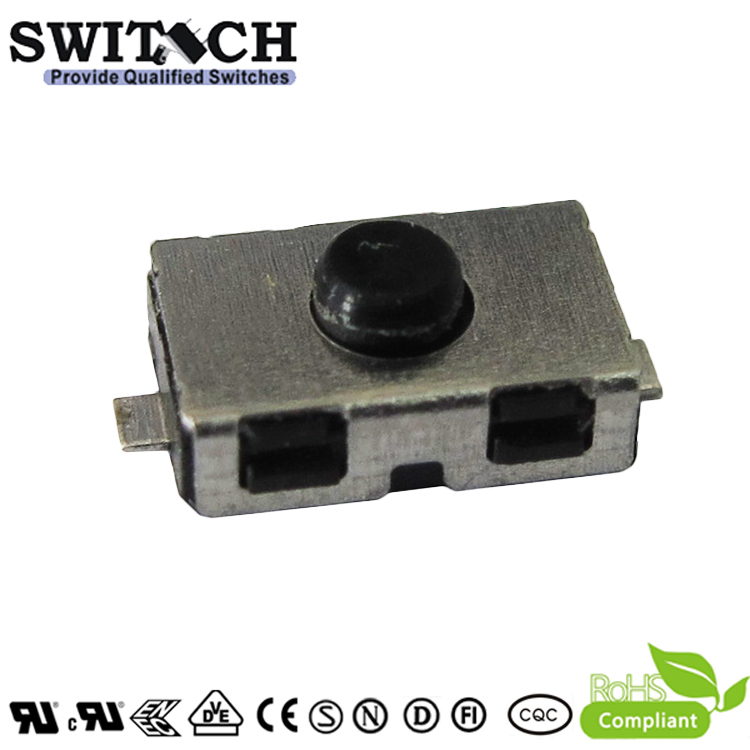 TS6038W-026C-G8-FC customized waterproof tactile switch for shaver