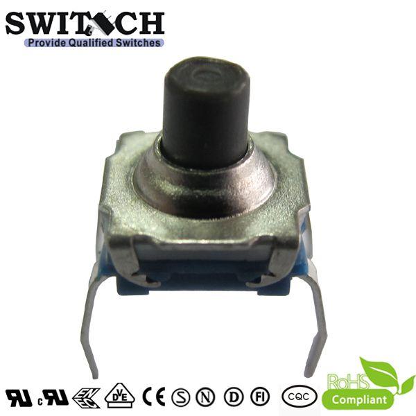 TS72W-069C IP67 7.2*7.2mm tact switch PCB foot 260gf, tact switch to repalce E-switch, 4 pins switch, waterproof switch, push button switch