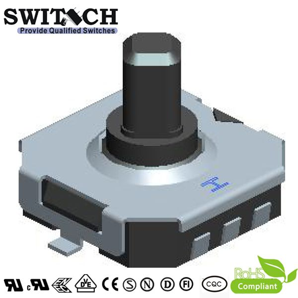 TS75A-060C-G8.7 7.7*7.5mm tact switch with 2 pins, height is 6mm waterproof switch, dustproof switch, china factory to produce switch