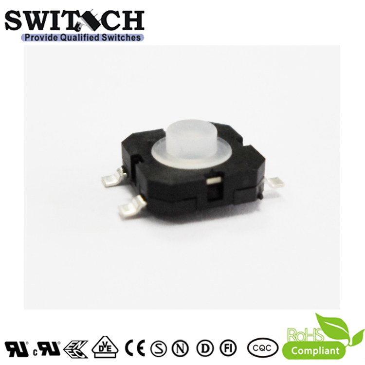TS85D-040D-G12-RS Momentary Contact Push Button Switch for Car Applicaton
