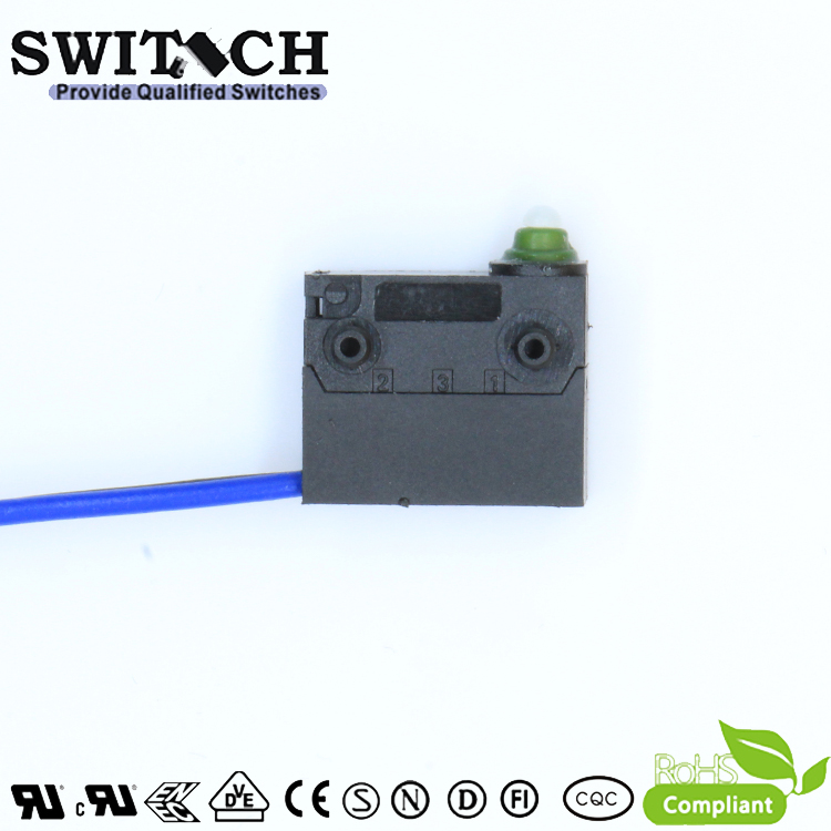 WS12-FTSW0-W130-L200-03   Mini Snap Action Switch replace Burgess /Omron/ Cherry SPST