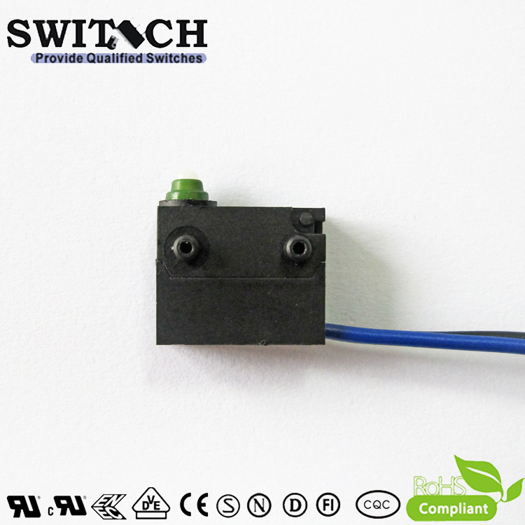 WS12-FTSW0-W130-R200-03   Mini Snap Action Switch replace Burgess /Omron/ Cherry SPST