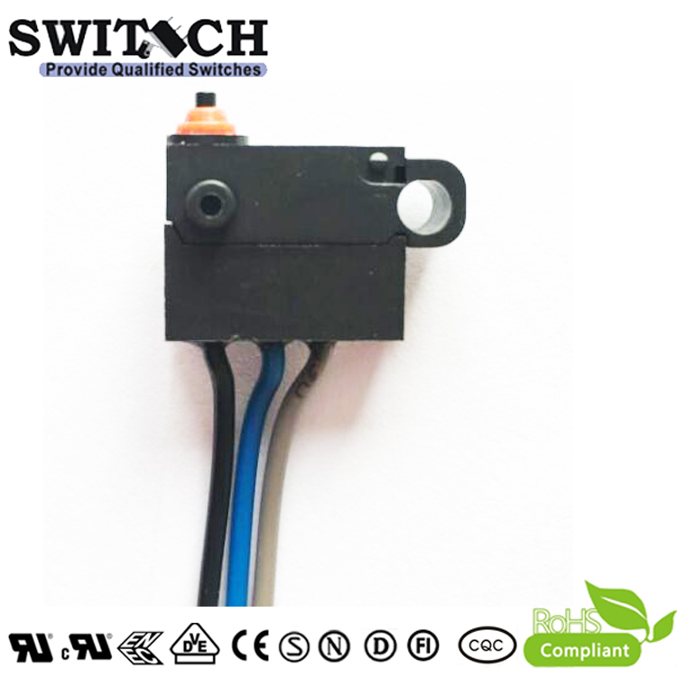 WS12-FZSW0-W150D165 GRAY bicycle sharing Mini Snap Action Switch replace Burgess /Omron/ Cherry SPST