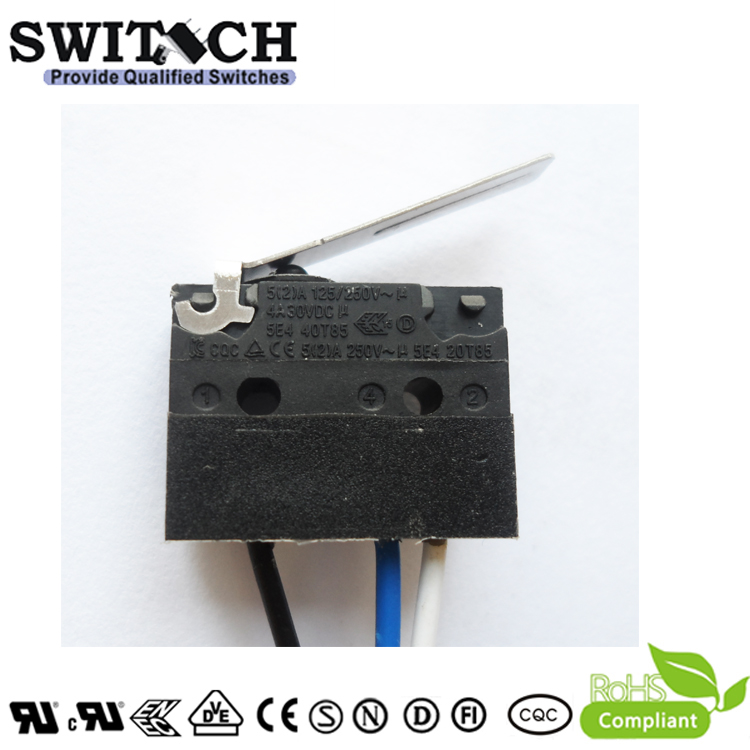ws1 zswh3 w150d120 sealed snap switch wire type arc lever china ws1 zswh3 w150d120