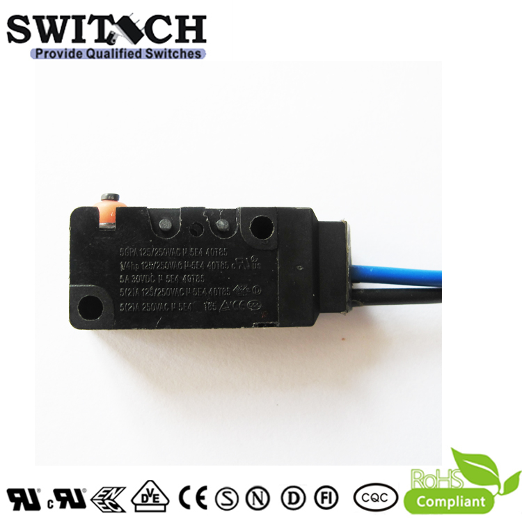WS2-05TSW0-W200-120  IP67 Sealed Snap Action Switch Replace Omron