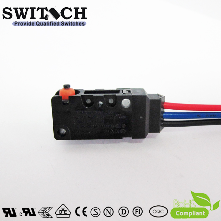 WS2-05ZSW0-W200-300 IP67 Sealed Snap Action Switch Replace Omron D2VW