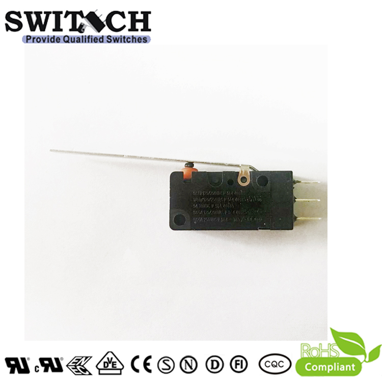 WS2-05ZSW2-F200  Waterproof Snap Action Switch Omron D2VW Equivalent