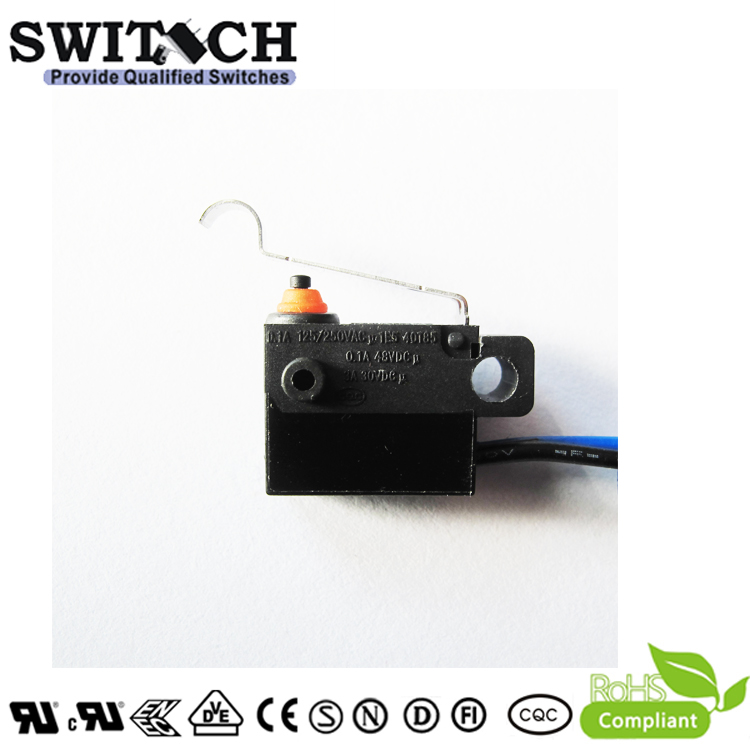 WS5-TSW6N-R130B-80  Mini Snap Action Switch replace Burgess SPST Wire type