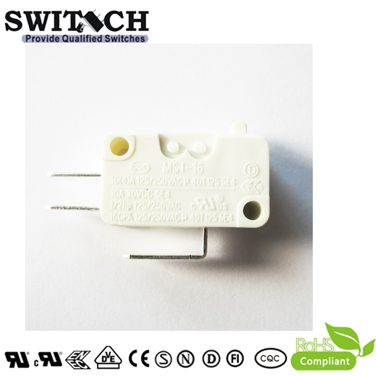 MS1-16ZSW0-A020  Snap Action Switch SPDT #250 Terminals